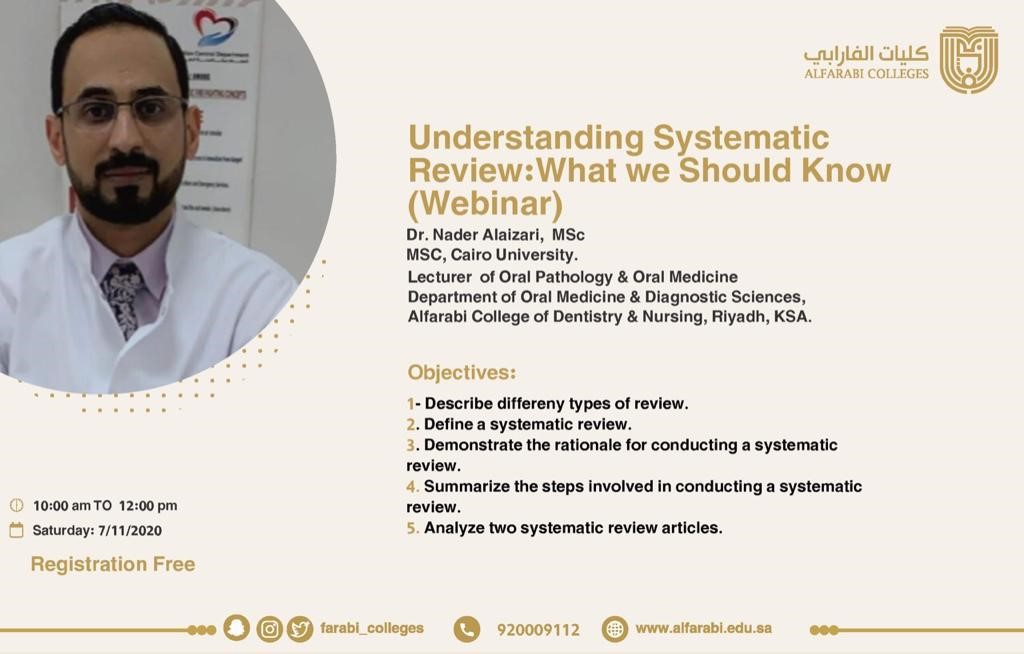 """"""" Understanding Systematic Review: what we should know"""""""